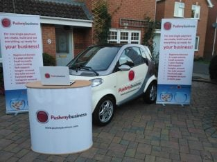 For Sale Business & Website Promotional Company (Smart Car Included)