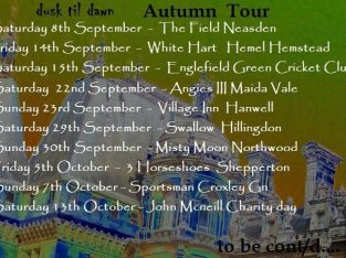 Autumn Tour – dusk til dawn