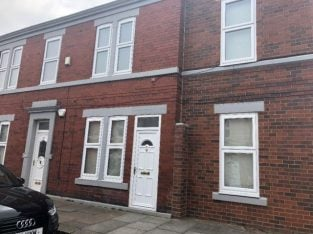 £520 / 2br – 90m2 – STUNNING LARGE 2 BEDROOM APARTMENT fully furbished. (17A Severus Road. Fenham Newcastle)