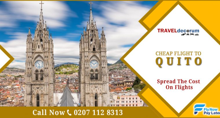 Flights to Quito from UK & London to Quito cheap flights