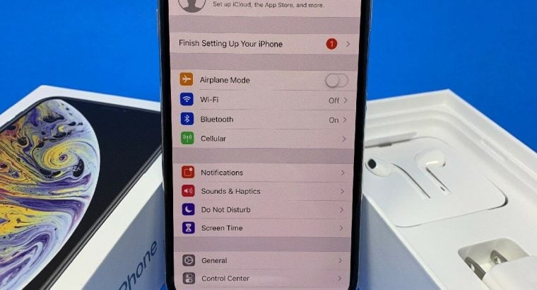Apple iPhone Xs Max 512GB Orginal Unlocked