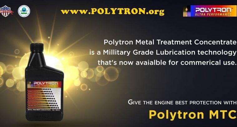 POLYTRON MTC – Metal Treatment Concentrate – Oil Additive (16oz/473ml)