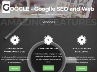 SEO Advertising Marketing Web Developing and Design – Google – Googlle.eu