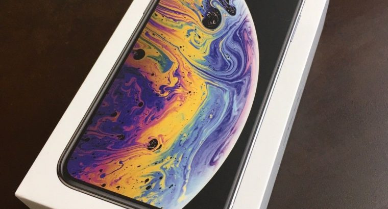 New Apple Iphone xs mas in box