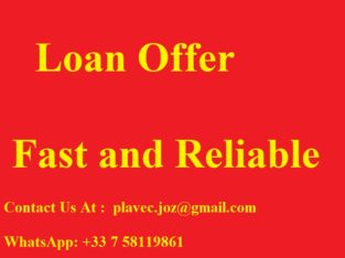 Fast loan offer in 72 hours – plavec.joz@gmail.co