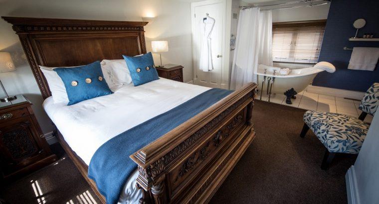 Sat Bains Hotel and restaurant of Nottingam, UK