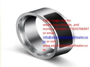 Magic ring to bring instant money +27820706997