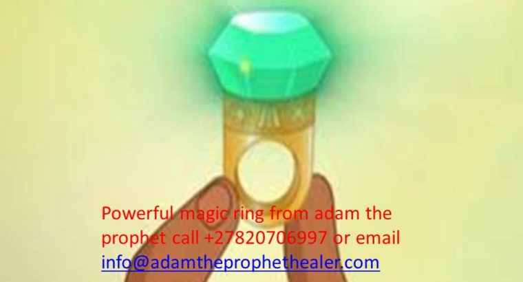Invisible magic ring for pastor and prophets