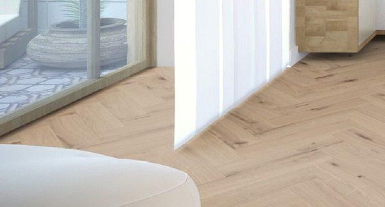 Oak Rustic Unfinished Engineered Flooring