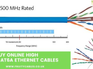 Cat6a Ethernet Cables – Networks cables – UK
