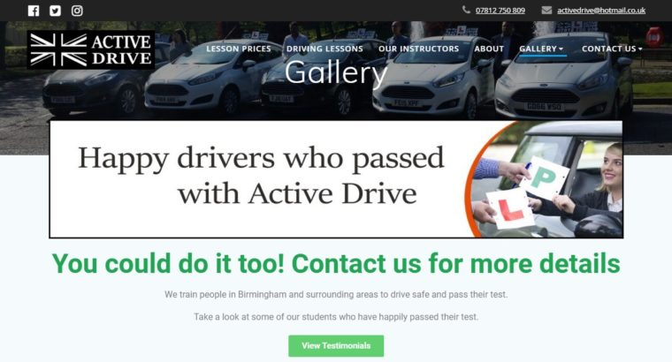 Automatic Driving instructors in Birmingham – Driving School