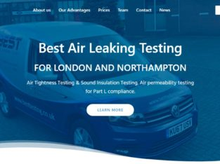 Air Tightness and Sound Insulation Testing