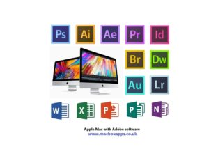 APPLE MACBOOK WITH ADOBE PHOTOSHOP & ILLUSTRATOR