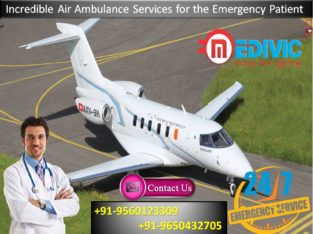 Take Efficient Air Ambulance from Bhopal