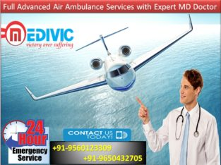 Hire with Low-Price Air Ambulance from Dibrugarh