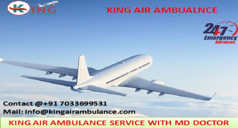 Get Best King Air Ambulance Services in Bangalore