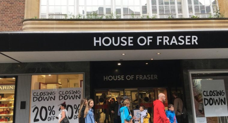 House of Fraser Extra 10 OFF Plus Free Delivery