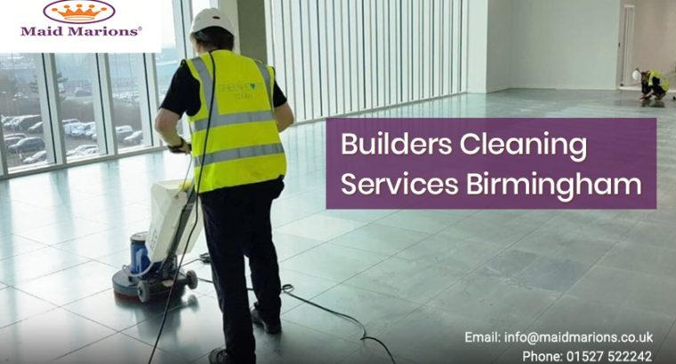 Builders Cleaning Services Birmingham | Maid Mario