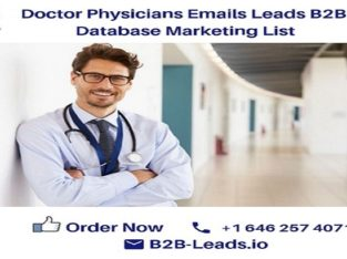 100% Verified Physicians Email List