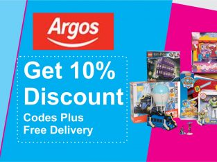 Enjoy Argos Free Delivery And £10 Off Argos Code