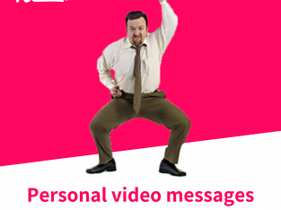 Personal Video Messages from Celebrities