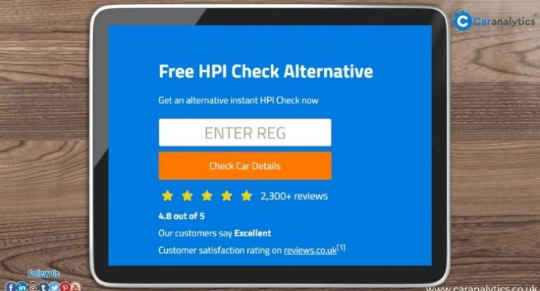 Do HPI check for your car at best vehicle checker