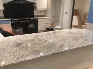 Ivory Fantasy Granite Kitchen Worktops for Sale Lo