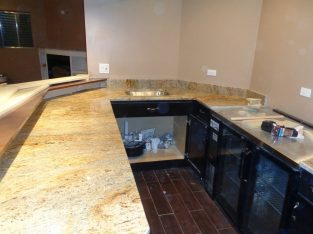 Ivory Gold Granite Kitchen Countertops at Low Pric