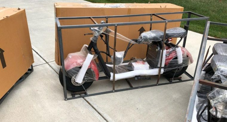 New 2000W 40AH Citycoco electric scooter