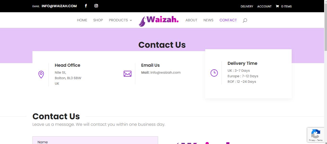 Waizah- Women's Clothing