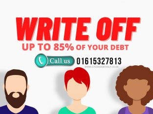 Get Free Debt Advice in UK | Write Off Up To 85%