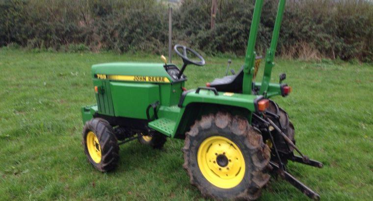 John Deere 755 4wd Compact Tractor