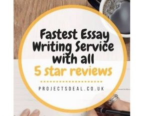Fastest Dissertation / Essay Writing for 100% Grad