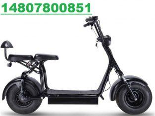 MotoTec Knockout 60v 1000w Electric Scooter Black