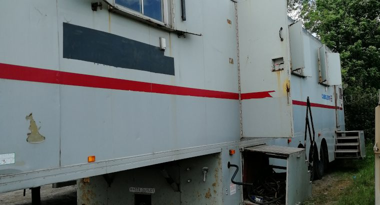 Rare Two Bedroom Live-in Semitrailer Home