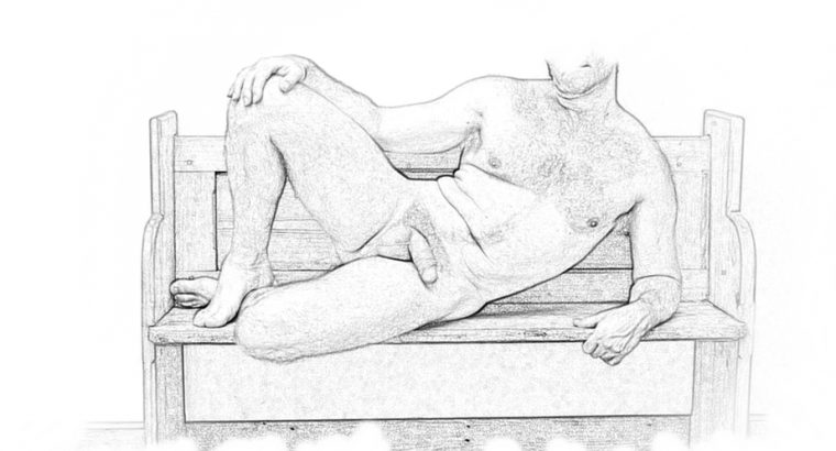 Male Life model